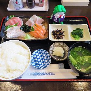 函館市北美原 オープンした「居酒屋 飛昇(ひしょう)」の刺身定食
