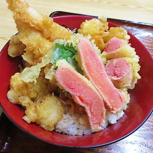 鹿部町 激タラコ推しの町でタラコ天丼を召す「太田食堂」