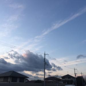 空を眺めて