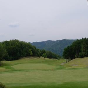 ゴルフに行ったよー。