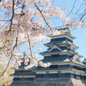 春の松本日帰り旅行①★桜と松本城