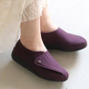 快歩主義L011 パープルラメ ・歩くことを医学的に分析して開発しました。もっと元気になれる靴・快歩主義