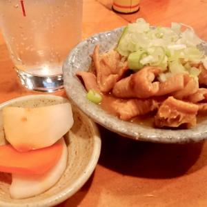 新潟屋/いつもの美味いモツ煮とモツ焼き@東十条