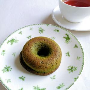 おから焼きドーナツ(紅茶、抹茶)【お豆ふ処 うめだ屋】