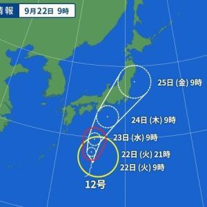 台風12号 ドルフィン