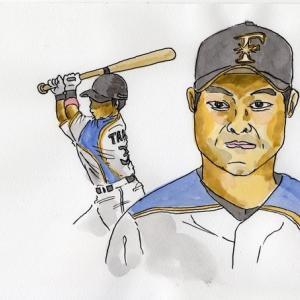 北海道日本ハムの田中賢介選手