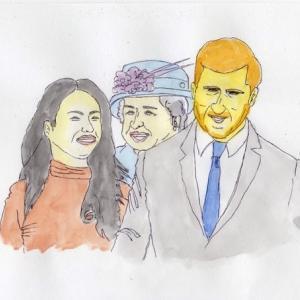 英王子夫婦が王室から離脱