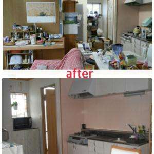 キッチンbefore/after①