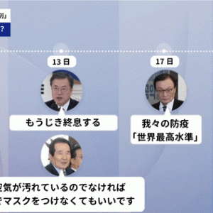 韓国人『一人が副作用で死亡すれば、大騒ぎして文句を言い、反日感情を爆発させるやつらである。日本は韓国にアビガンを与えてはいけない