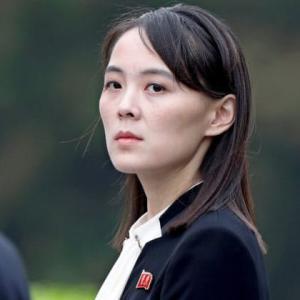 【カリアゲ妹】北朝鮮「野郎、骨髄、低脳」…悪女に豹変した金与正