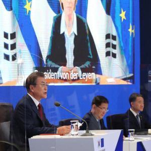 【韓国】「米大統領選挙前に第3回朝米首脳会談が必要…米国も共感して努力中」~文大統領、EU首脳とのテレビ会談で