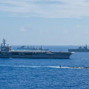 【クアッド】日米豪印の海上演習、中国の反発招く可能性も 4カ国は地域の主要民主主義国家の戦略的枠組みとしてクアッドを形成