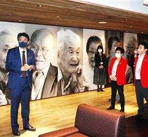 【韓国のウソに対応せよ】安倍元首相、軍艦島元島民ら激励「中傷はね返して」 韓国の強制連行主張に 「歴史の真実も伝わっていくのだろう」