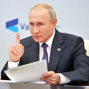 【ロシア】プーチン大統領「米露の時代は終わった。米国の影響力は低下し、中国とドイツが超大国になる」 ★2  [ばーど★]