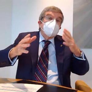 IOC会長、東京五輪の中止や再延期否定