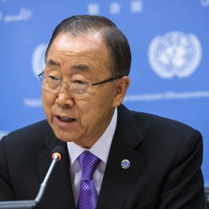 パン・ギムン前国連総長が回顧録 トランプ氏の北朝鮮政策など批判