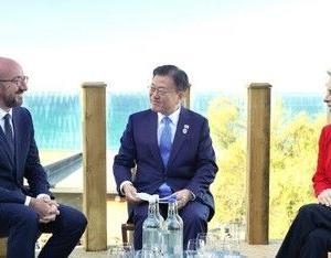 【中央日報】韓国・EU首脳会談…文大統領「韓国はグローバルワクチンハブの役割する」