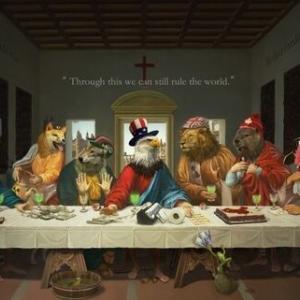 【中共は病気】「最後の晩餐」なぞらえG7風刺 ネットに拡散