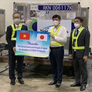 【新型コロナ】ベトナムに日本のワクチン到着