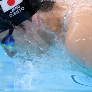 【東京五輪競泳】瀬戸大也4位、萩野公介6位…200M個人メドレーで表彰台逃す