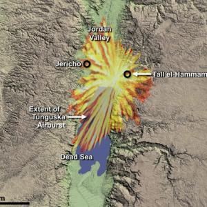 【考古学】「天の火」で滅亡した都市ソドムか? 中東の古代都市、巨大隕石の空中爆発で消滅した可能性