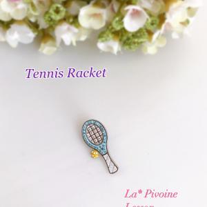 《レッスン報告》テニスラケット爽やかカラーで