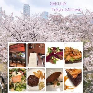 お花見〜東京ミッドタウンの桜