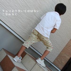 MahoeAnelaさん男の子テーパードパンツ着画★120