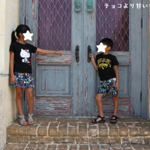 Snuggleさんタックパンツ120とAPR Pleasureさんサイドフリルスカート130の着画★