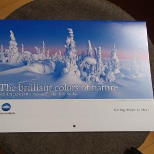 コニカミノルタより株主優待カレンダーが届きました。