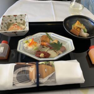 ANA国際線機内食 NH211 C 羽田ロンドン HNDLHR ビジネスクラス JUL19