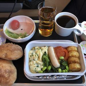 スカンジナビア航空機内食 SK983 PY コペンハーゲン成田 CPHNRT SAS Plus JAN19