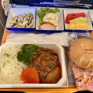 ANA国際線機内食 NH852 Y 台北松山羽田 TSAHND エコノミー JUL19