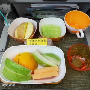 エバー航空 機内食 BR131 Y 関西台北 KIXTPE エコノミー AUG19 EVA 長榮 FPML SPML
