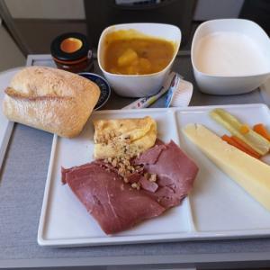 エールフランス機内食 AF1774 C パリオスロー CDGOSL ビジネス AUG19