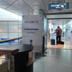 HELAY ヘルシンキ空港フィンエアーラウンジ SEP19