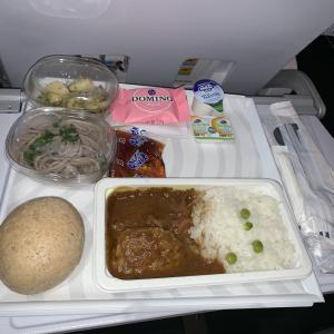 フィンエアー機内食 AY079 Y ヘルシンキ名古屋 HELNGO エコノミー SEP19 Finnair