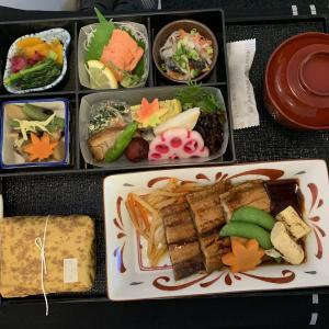 JAL国際線機内食 JL821 C 名古屋台北 NGOTPE ビジネス SEP19
