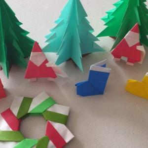 折り紙でクリスマスの演出してみると意外とウケるかも⁉︎