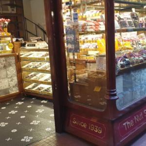 昔ながらの懐かしさを感じる The Nut Shop のお菓子たち