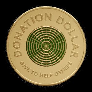 """緑色の$1コイン """"donation dollar"""" が今後数年オーストラリアに流通します"""