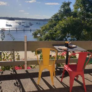 ダブルベイの海を眺めながらカジュアルなブランチが食べれる『レッドリーフカフェ』が素敵