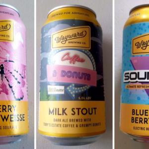 衝撃を受けるようなインパクトのあるビールが印象的な『ウェイワード (Wayward)』