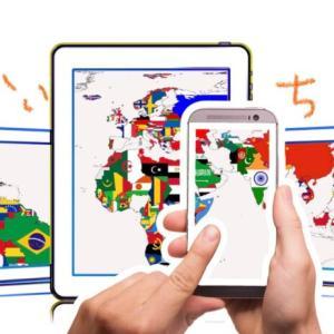 世界の国名と位置は楽しく覚えるのがいちばん♪私イチオシのパズルゲームアプリはこれ‼︎