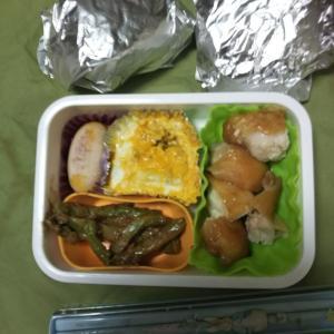 女子中学生弁当、鶏のてりやき