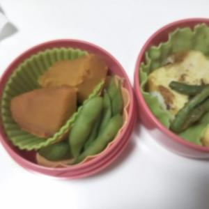 女子中学生弁当、カジキのカレーソテー