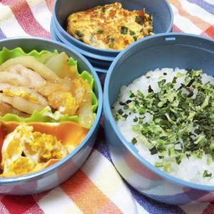 塾弁当、豚の生姜焼
