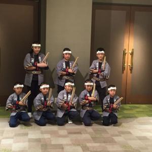 共栄稲荷神社鎮座百年奉祝の宴で演奏させていただきました。