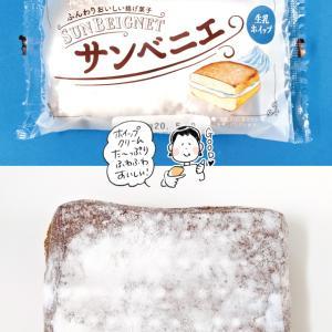 【袋ドーナツ】山崎製パン「サンベニエ」【しっとりかためでおいしい〜】