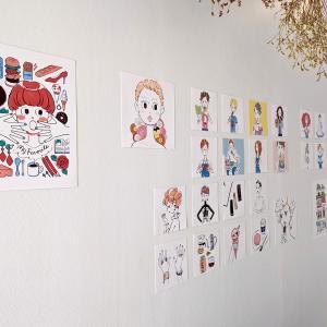 【4月24日〜5月5日まで】『私のてきとうなお菓子作り』出版記念のイラスト展